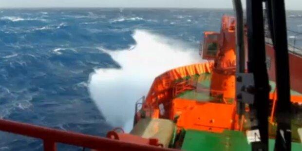 Salzgehalt der Meere steigt dramatisch