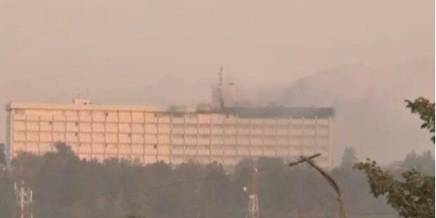 Taliban stürmen Hotel bei Kabul