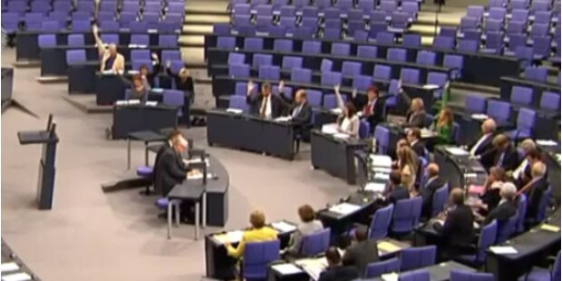 Bundestag beschließt Bürgerrechte in 57 Sekunden