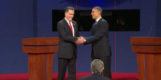 TV-Duell: Romney punktet gegen Obama