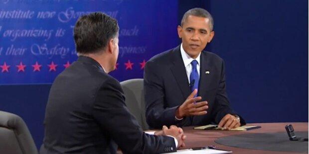 Runde 3 für Barack Obama gegen Romney