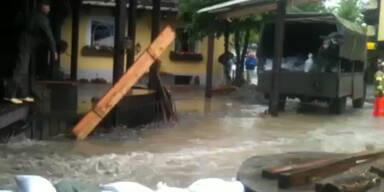 Hochwasser: Leichte Entspannung