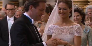 Madeleine sagt Ja: Schwedische Hochzeit