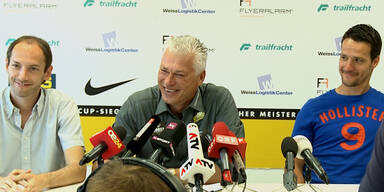 Admira mit neuem Trainer Toni Polster
