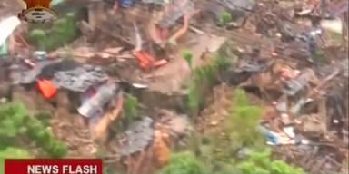Ländliche Regionen: Schwere Erdbebenschäden