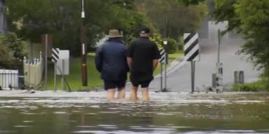 Australien: Stürme und Überschwemmungen