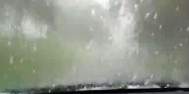Schwere Unwetter in Kärnten