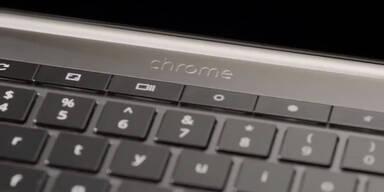 Google stellt Laptop mit Touchscreen vor