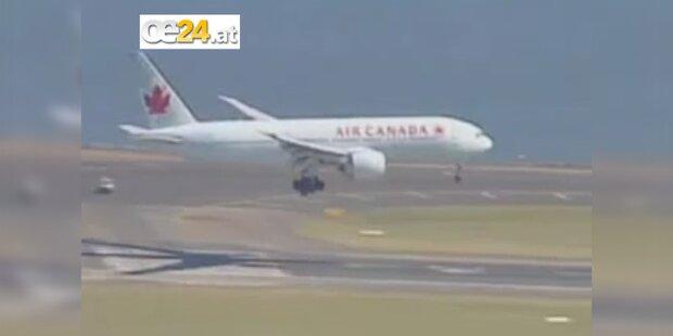 Rauch in Bord-Küche eines Air-Canada-Fluges
