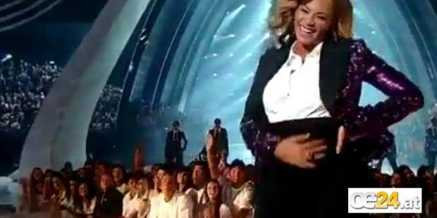 Beyoncé Knowles zeigt Babybauch