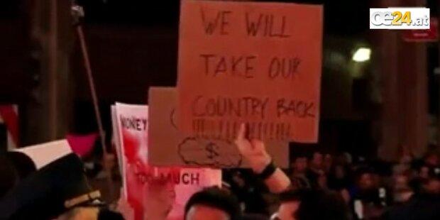 Aktivisten machen Times Square dicht