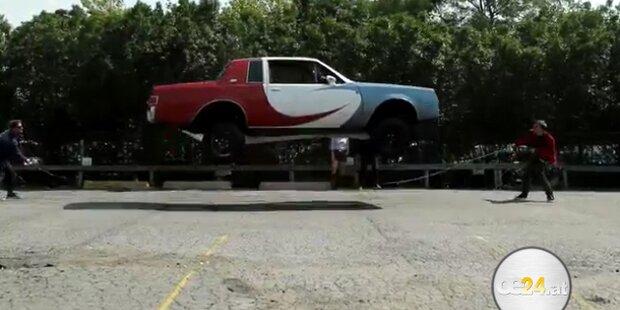 Unglaublich: Dieses Auto kann hüpfen