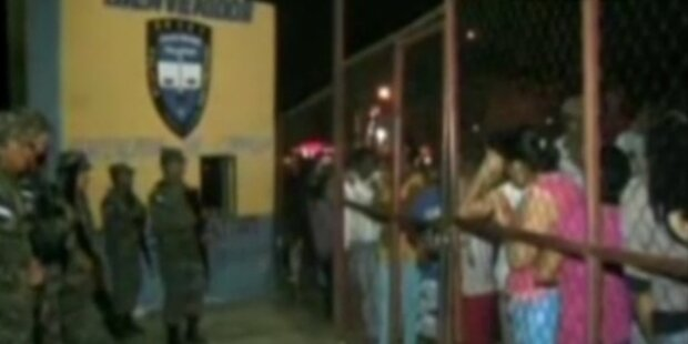 Honduras: Tote bei Gefängnisbrand