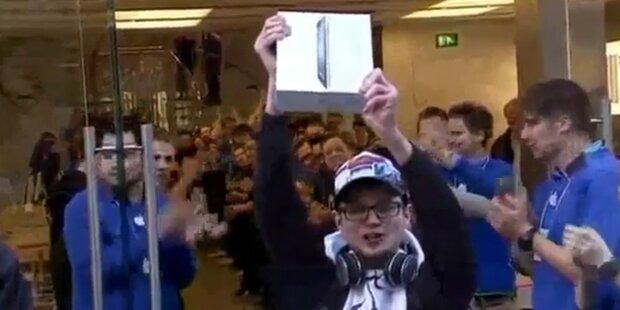 Ganz Österreich ist im iPad-Fieber