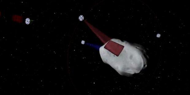US-Firma will Asteroiden ausbeuten