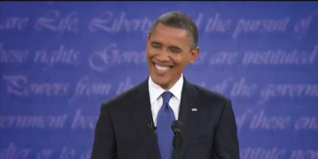 Romney witzelt über Obamas Hochzeitstag