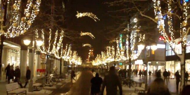 Weihanchtshaus in Calle hat 430.000 Lichter