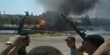 Assads Truppen bombardieren Aleppo