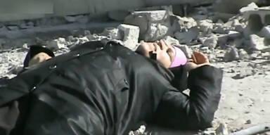 Rebellen retten Frau vor dem sicheren Tot