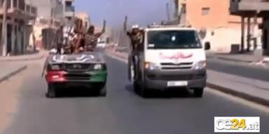 Hauptstadt Tripolis in Rebellen Hand