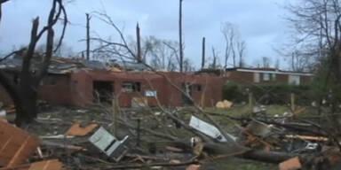 Mississippi: Tornado verwüstet US-Stadt