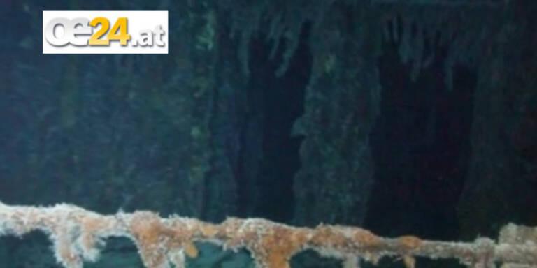 Wrack mit Silberschatz im Meer gefunden