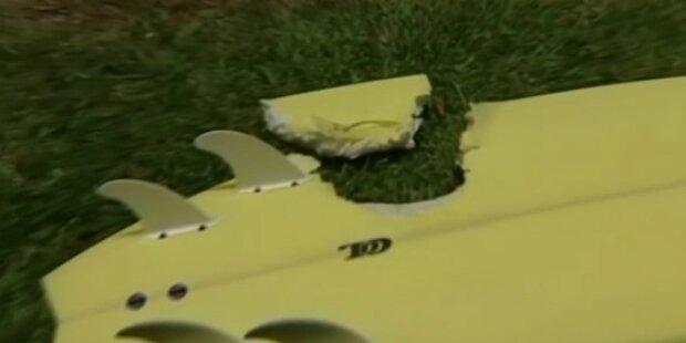 Surfer überlebt Hai Angriff unbeschadet