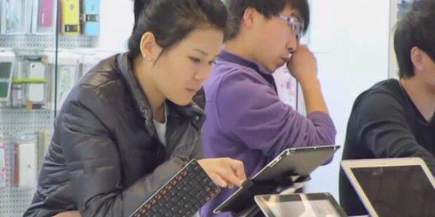 Ärger für Apple: China beschlagnahmt iPads