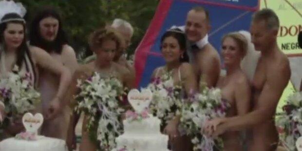 Jawort: Nackt heiraten auf Jamaika