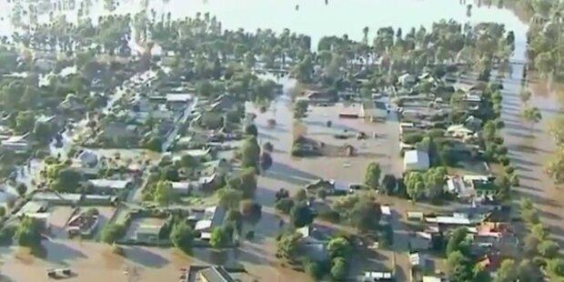 Hochwasser bedroht Städte in Australien