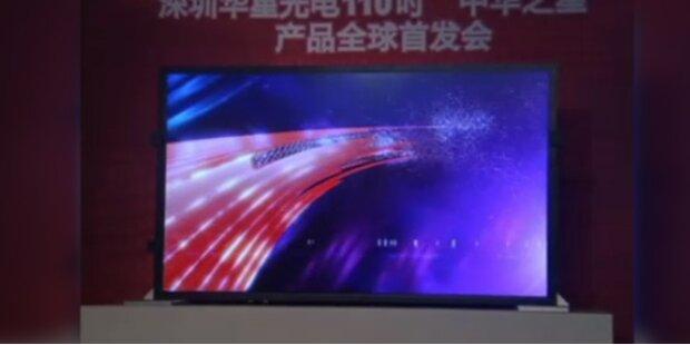 Der größte LCD-Bildschirm der Welt