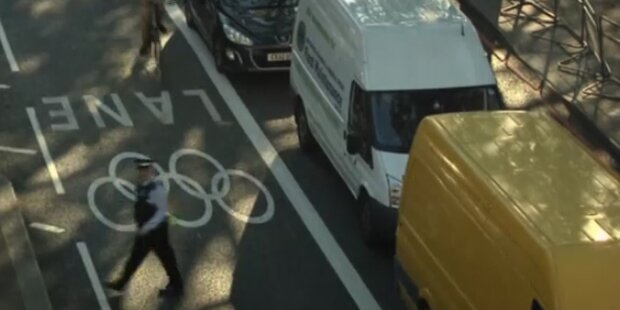 London: Olympia sorgt für Verkehrschaos