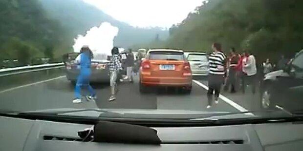 Gasexplosion in China: 3 Tote Feuerwehrleute