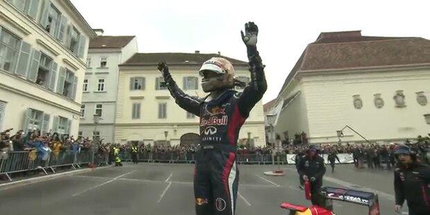 Vettelmania: Alle wollten den Weltmeister sehen