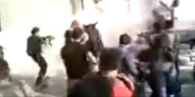 Video zeigt Hinrichtung von Assad-Anhängern