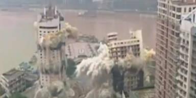 Mega-Sprengung in Metropole Chongqing