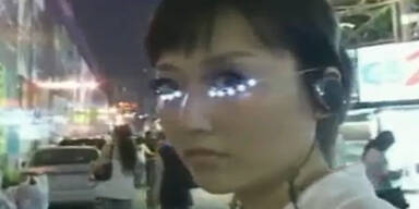 LED-Wimpern: neuer Trend aus Asien
