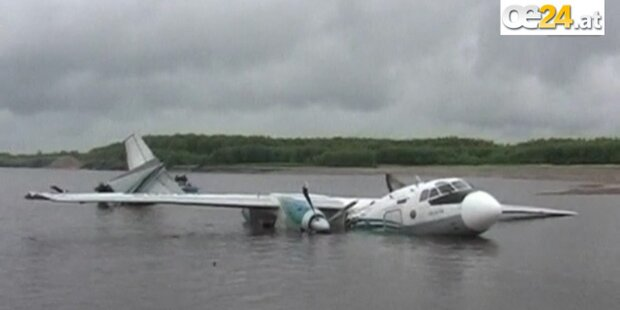 Notlandung im Fluss: 7 Tote in Sibirien