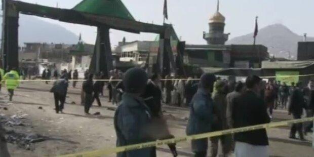 Anschlagsserie erschüttert Afghanistan