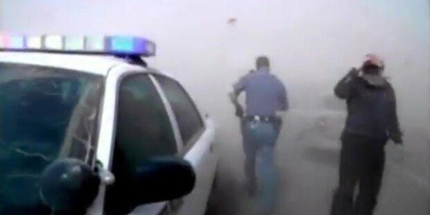 Schwerer Sandsturm fegt über Washington