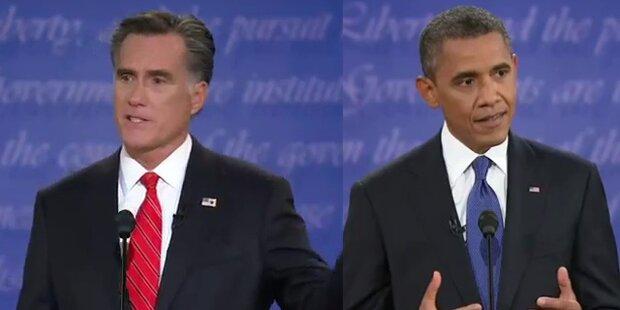 Umfrage: Romney zieht an Obama vorbei
