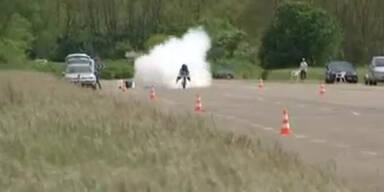 Rekord: Raketen-Bike schafft 263 km/h