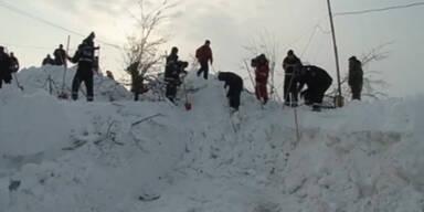 Rumänien versinkt im Schneechaos