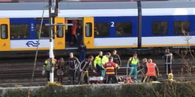 Amsterdam: 125 bei Zugcrash verletzt