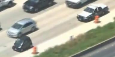 Betrunken: US-Polizei jagt Smart-Fahrer