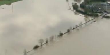 Verheerende Hochwasser in England