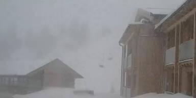 Winter geht weiter: Schnee-Alarm in Österreich