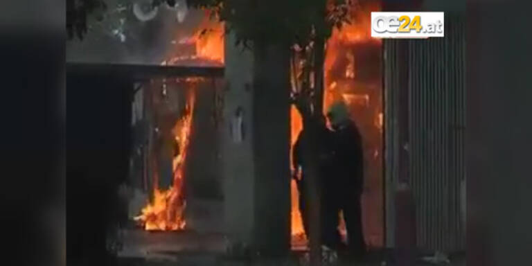 Demos gehen weiter: Athen in Flammen
