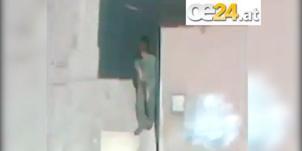 Mann filmt seine eigene Ermordung