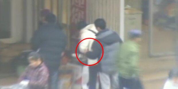 So arbeiten Taschendiebe in China